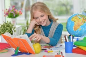 Young Girl Studying - Tracing Talent Tutoring Service Westerose, Alberta